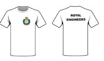 RE Cap Badge/RE Text White T-shirt